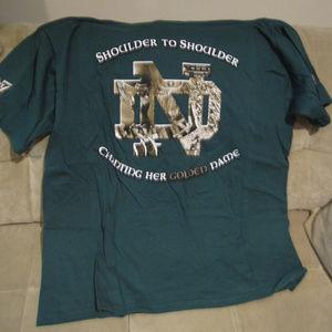 "Notre Dame ""The Shirt"" 2007 new medium"